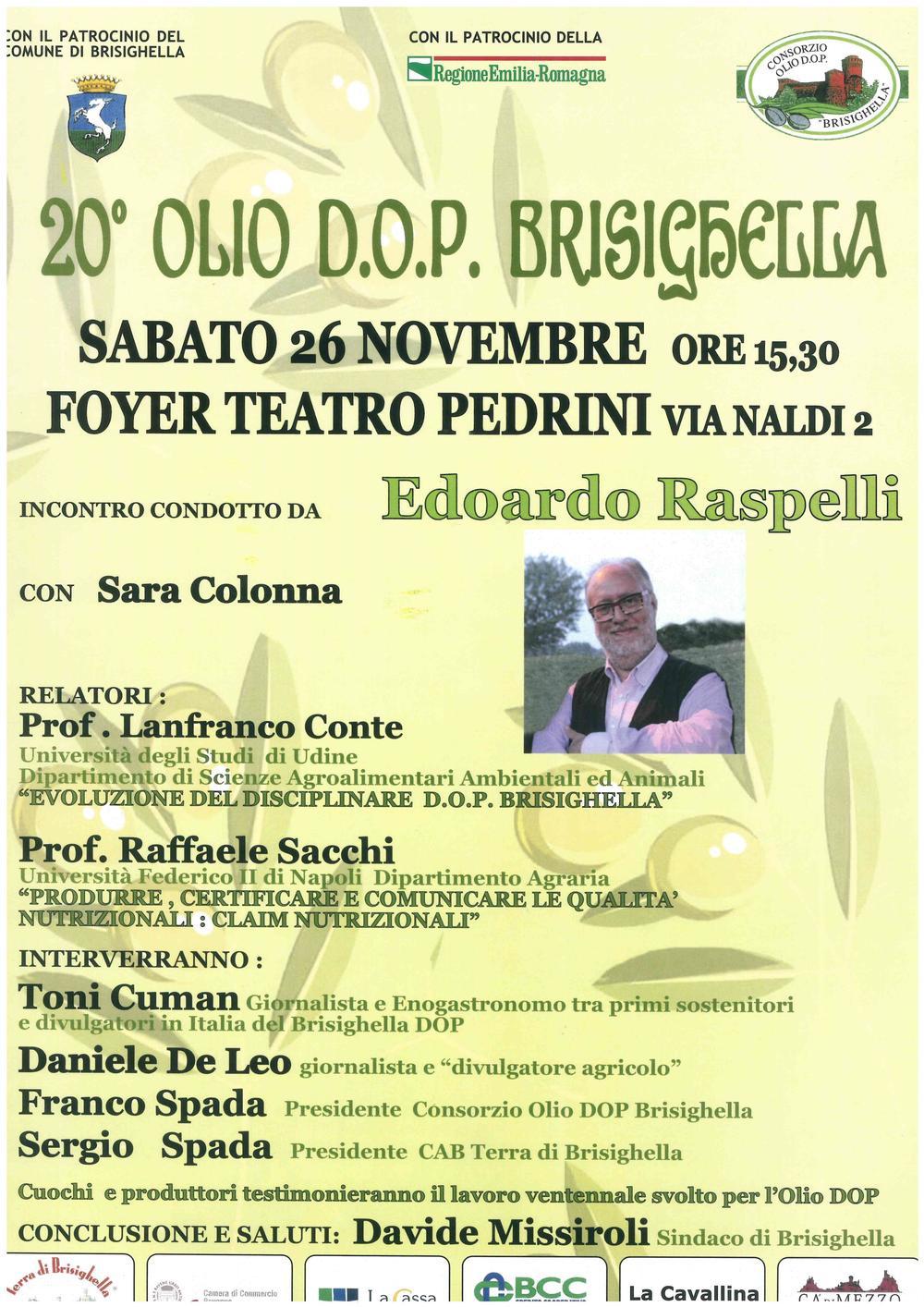 20° Olio D.O.P Brisighella