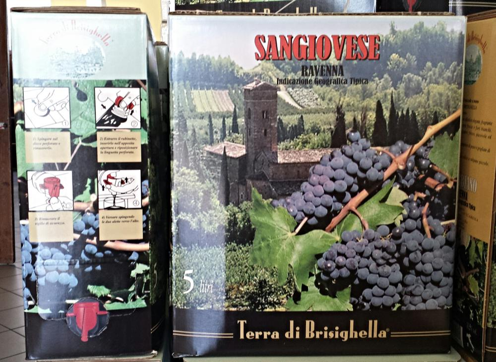 BAG IN BOX IGT SANGIOVESE RAVENNA®